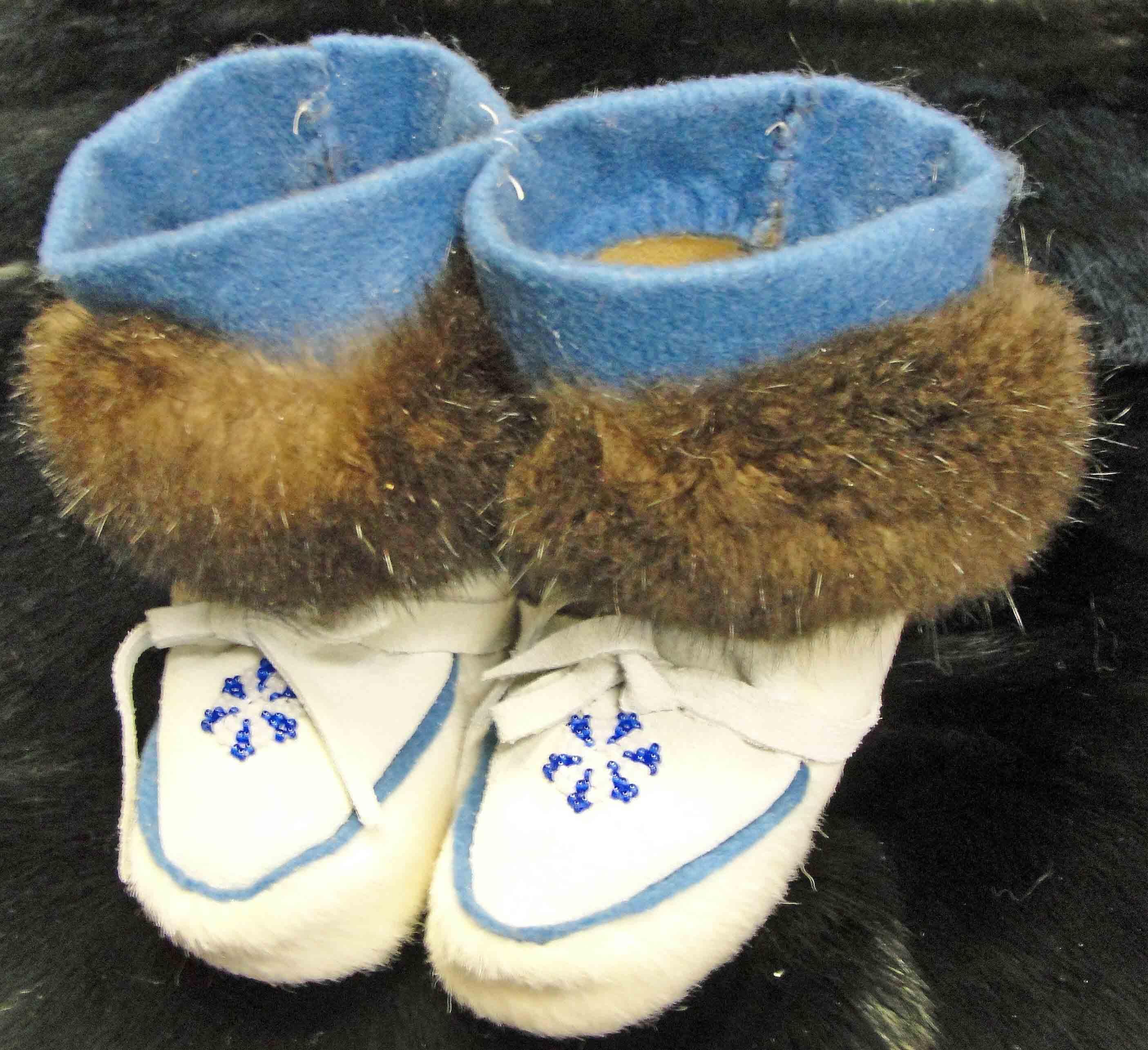 Native Alaskan infant moccasins